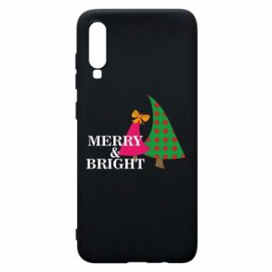 Phone case for Samsung A70 Merry and Bright