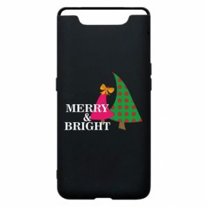 Phone case for Samsung A80 Merry and Bright