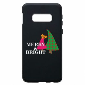 Phone case for Samsung S10e Merry and Bright