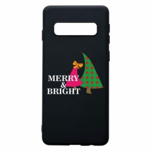 Phone case for Samsung S10 Merry and Bright