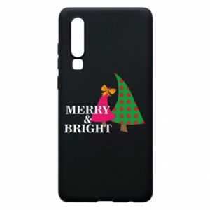 Phone case for Huawei P30 Merry and Bright