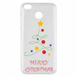 Xiaomi Redmi 4X Case Merry Christmas, christmas tree