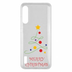 Xiaomi Mi A3 Case Merry Christmas, christmas tree