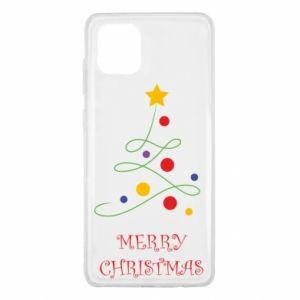 Samsung Note 10 Lite Case Merry Christmas, christmas tree