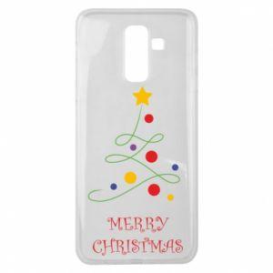 Samsung J8 2018 Case Merry Christmas, christmas tree