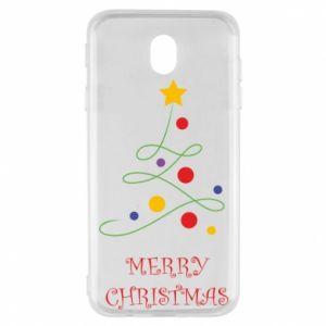 Samsung J7 2017 Case Merry Christmas, christmas tree