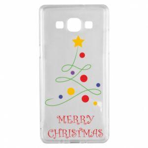 Samsung A5 2015 Case Merry Christmas, christmas tree