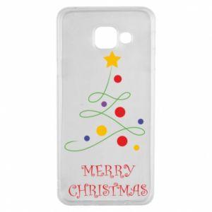 Samsung A3 2016 Case Merry Christmas, christmas tree