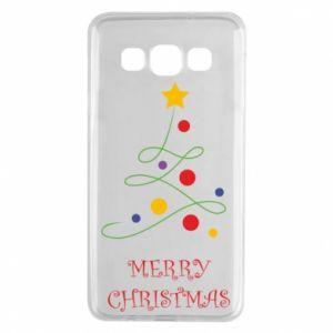 Samsung A3 2015 Case Merry Christmas, christmas tree