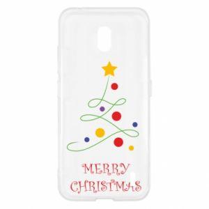 Nokia 2.2 Case Merry Christmas, christmas tree