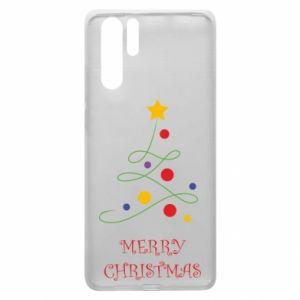 Huawei P30 Pro Case Merry Christmas, christmas tree