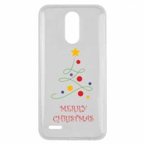 Lg K10 2017 Case Merry Christmas, christmas tree