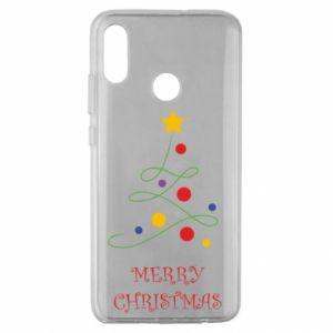 Huawei Honor 10 Lite Case Merry Christmas, christmas tree