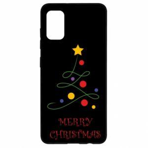 Samsung A41 Case Merry Christmas, christmas tree