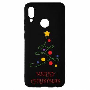 Huawei P Smart 2019 Case Merry Christmas, christmas tree