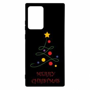 Etui na Samsung Note 20 Ultra Merry Christmas, christmas tree