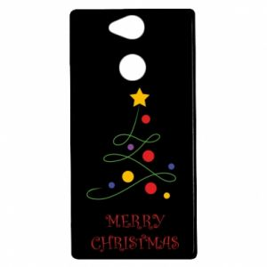 Etui na Sony Xperia XA2 Merry Christmas, christmas tree