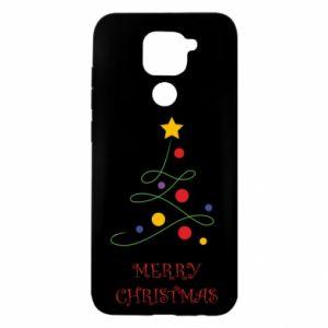 Etui na Xiaomi Redmi Note 9/Redmi 10X Merry Christmas, christmas tree