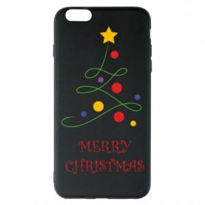 Phone case for iPhone 6 Plus/6S Plus Merry Christmas, christmas tree
