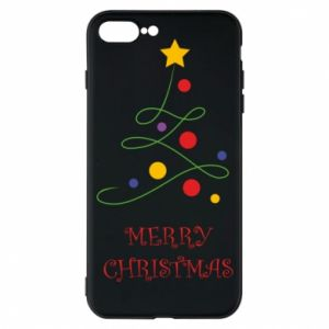 Phone case for iPhone 7 Plus Merry Christmas, christmas tree