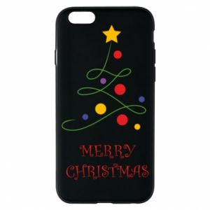 Phone case for iPhone 6/6S Merry Christmas, christmas tree