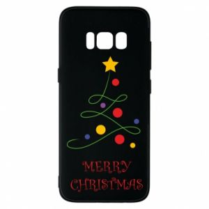 Phone case for Samsung S8 Merry Christmas, christmas tree
