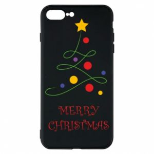 Phone case for iPhone 8 Plus Merry Christmas, christmas tree