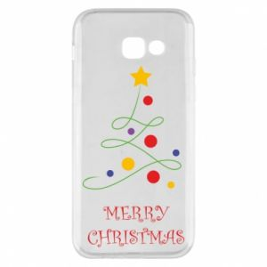 Phone case for Samsung A5 2017 Merry Christmas, christmas tree