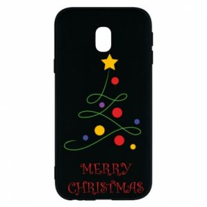 Phone case for Samsung J3 2017 Merry Christmas, christmas tree
