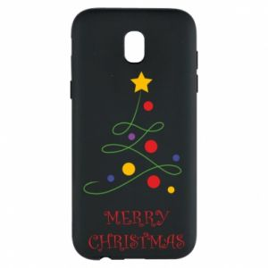 Phone case for Samsung J5 2017 Merry Christmas, christmas tree