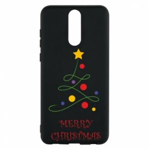 Phone case for Huawei Mate 10 Lite Merry Christmas, christmas tree
