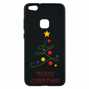 Phone case for Huawei P10 Lite Merry Christmas, christmas tree