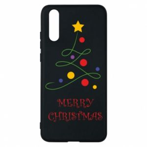 Phone case for Huawei P20 Merry Christmas, christmas tree
