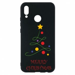 Phone case for Huawei P20 Lite Merry Christmas, christmas tree