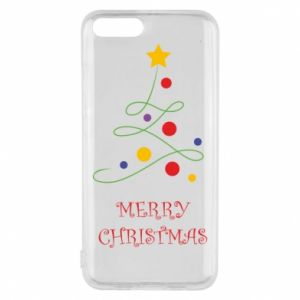 Phone case for Xiaomi Mi6 Merry Christmas, christmas tree