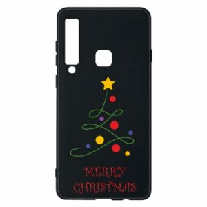 Phone case for Samsung A9 2018 Merry Christmas, christmas tree