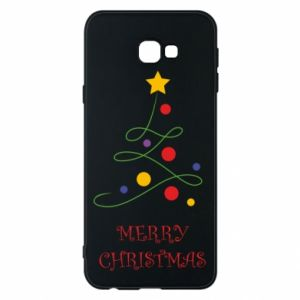 Phone case for Samsung J4 Plus 2018 Merry Christmas, christmas tree