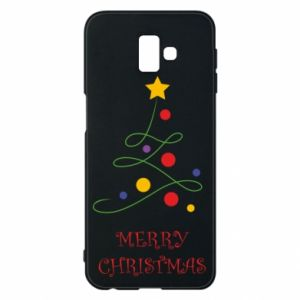 Phone case for Samsung J6 Plus 2018 Merry Christmas, christmas tree