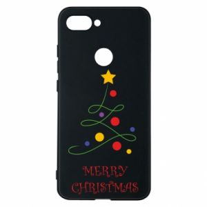Phone case for Xiaomi Mi8 Lite Merry Christmas, christmas tree