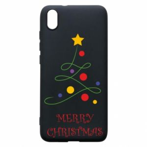 Phone case for Xiaomi Redmi 7A Merry Christmas, christmas tree