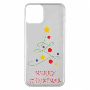 Phone case for iPhone 11 Merry Christmas, christmas tree