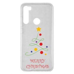Xiaomi Redmi Note 8 Case Merry Christmas, christmas tree