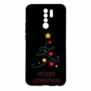 Xiaomi Redmi 9 Case Merry Christmas, christmas tree
