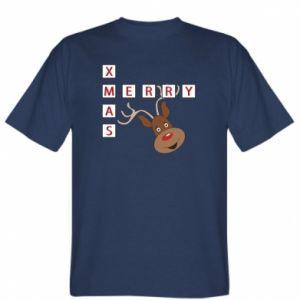 T-shirt Merry Xmas Moose