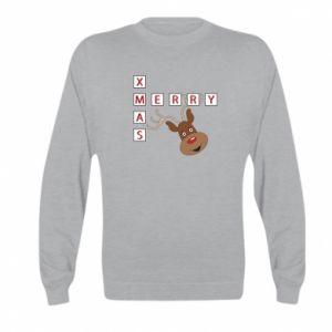 Bluza dziecięca Merry Xmas Moose