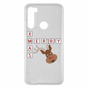 Xiaomi Redmi Note 8 Case Merry Xmas Moose
