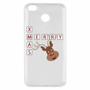 Etui na Xiaomi Redmi 4X Merry Xmas Moose
