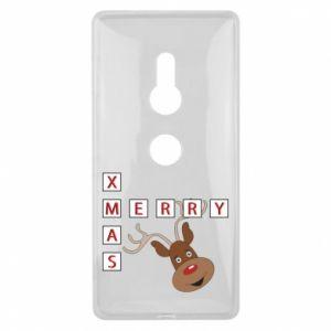 Etui na Sony Xperia XZ2 Merry Xmas Moose