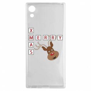 Etui na Sony Xperia XA1 Merry Xmas Moose