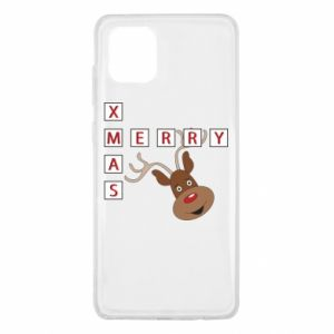 Etui na Samsung Note 10 Lite Merry Xmas Moose